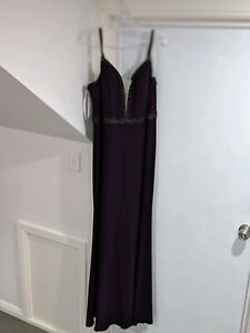 Evening gown / Roskosh couture dress / formal dress / purple
