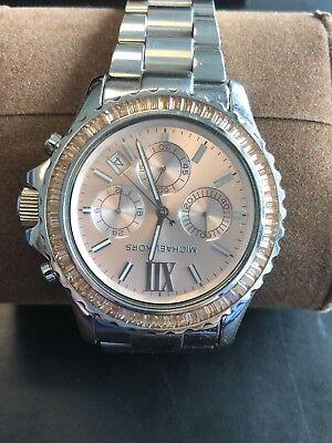 Michael Kors MK5870 Women's Silver Tone Analog Watch