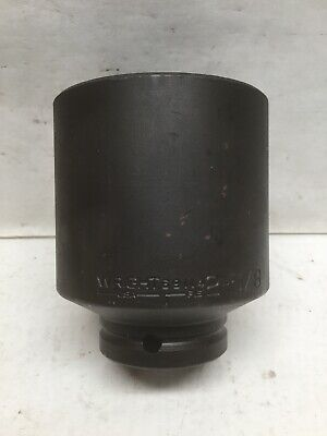 Wright Tool 69114 Impact Socket 34 Drive 2-58 6 Point