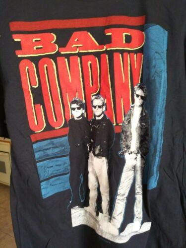BAD COMPANY 1988-89 Dangerous Age vintage licensed concert US tour shirt LG NEW!