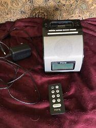 iHome Ip11 30-pin Ipod/iphone Alarm Clock Speaker Dock (black)