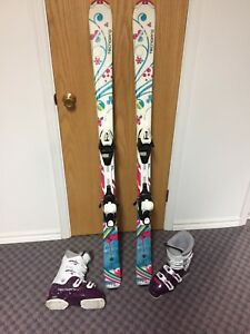 Junior Girls Skis and Boots