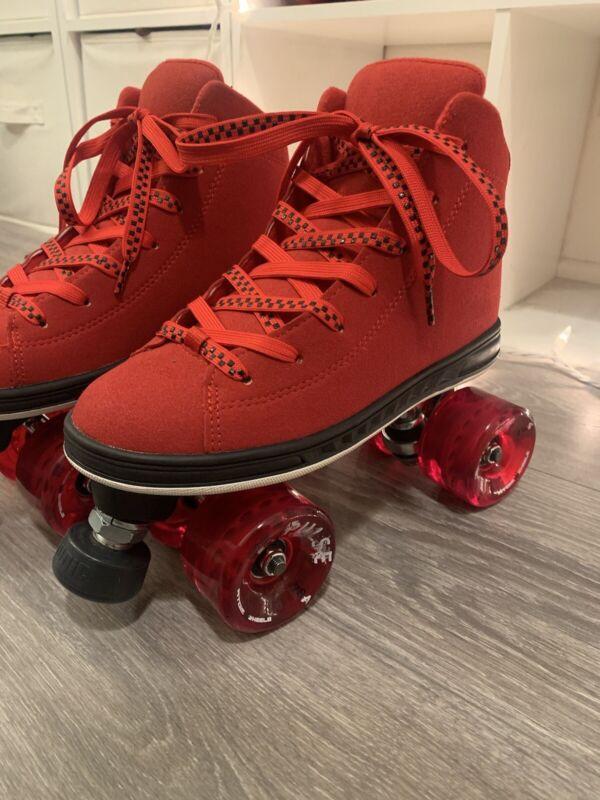 Red Jackson Diva Roller Skates Size 6