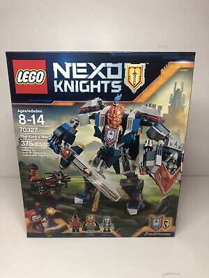 Lego Nexo Knights 70327 The King's Mech New MISB King Halbert Flame Throwers