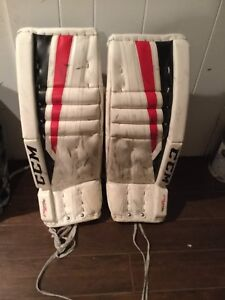 Eflex 2 intermediate goalie pads 26+1