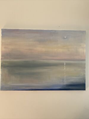 Oil Painting Sunrise Seascape Modern