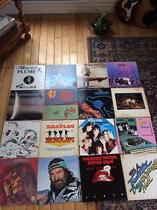 Divers disques vinyles 60's 70's rares