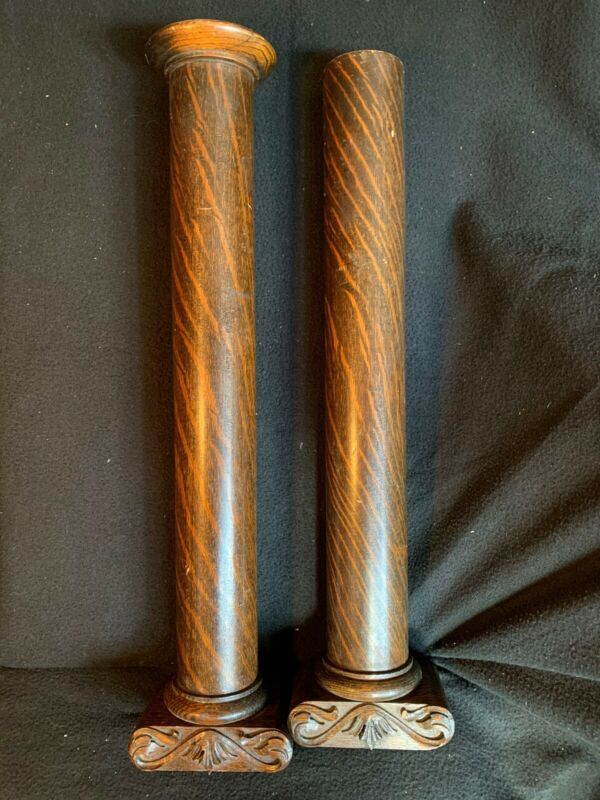 Lg. Antique Victorian Carved Tall COLUMN NEWEL Porch POST Architectural Salvage