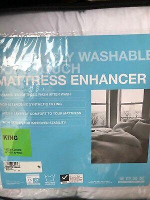Bedding Heaven KING SIZE MATTRESS ENHANCER (TOPPER) Made by FOGARTY