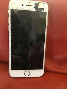 iPhone 6 cracked but working condition Berkeley Vale Wyong Area Preview