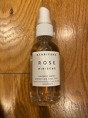 Herbivore Rose Hibiscus Hydrating Mist 2 oz - New