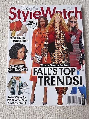 Style Watch Magazine September 2015 Fall's Top Trends This is Gonna Be Fun!