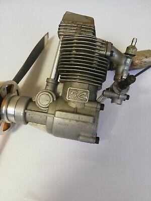 SC 120 Four Stroke Engine nitro Rc plane Motor aeroplane