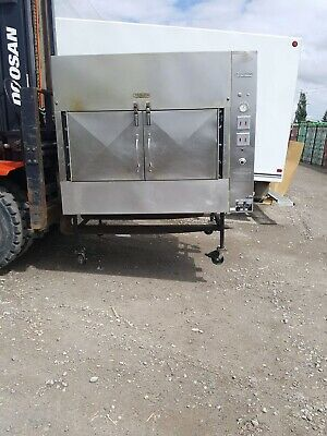Ole Hickory Pits Model El-ew Bbq Smoker Commercial 2008 15 Racks 60 Sq Ft Cookin