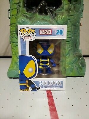 Funko Pop! Marvel X-Men Deadpool (Blue) #20 Vinyl Figure! NIB