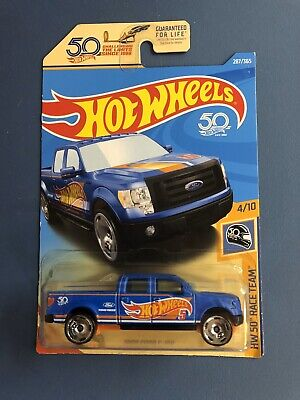 Hot Wheels 50th Anniversary Race Team 2009 Ford F-150🏁🏁