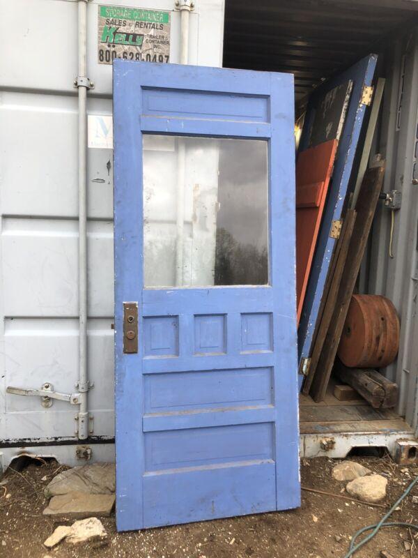 Antique Entry Door Exterior