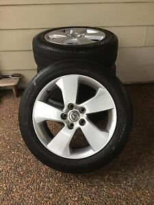 Toyota michelin mag  wheels x4. Cheep Adamstown Newcastle Area Preview