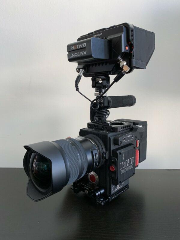 RED Raven 4.5K Cinema Camera + Accessories
