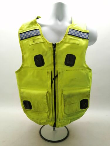 Ex Police Hi Vis Body Armour Cover Cooneen Security Safety Uniform Duty Grade 2