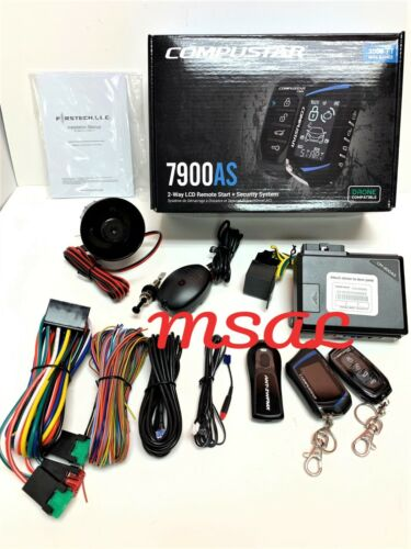 Compustar CS7900-AS All In One 2-Way 3000-FT Range Remote Start Security NEW