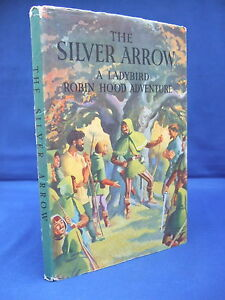 The-Silver-Arrow-Ladybird-Robin-Hood-Adventure-HB-DJ