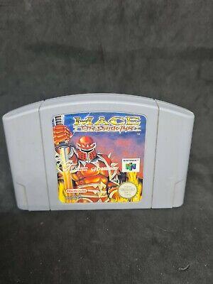 Nintendo 64 Mace Dark Age N64 PAL only Cartridge