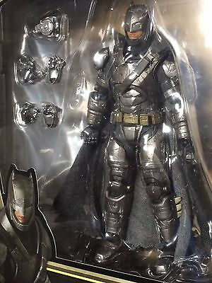 New Medicom Toy Mafex Armored Batman Vs Superman Dawn Of Justice Action Figure