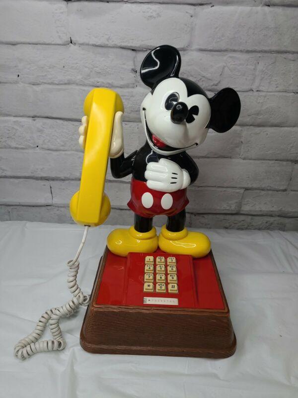 Vintage Walt Disney Mickey Mouse Telephone
