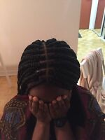 Coiffeuse pour tresse africaine