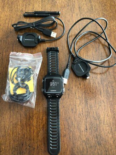 Garmin Forerunner 920 XT Watch GPS Triathlon Running Black w/ HRM Quick Release