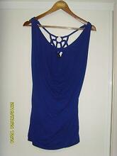City Chic Blue Top Size Small Augustine Heights Ipswich City Preview