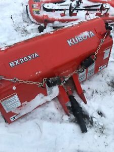 Kubota sweeper model BX2537A