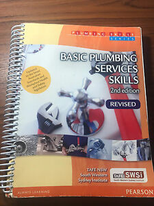 1st yr TAFE Plumbing Textbook Cecil Hills Liverpool Area Preview