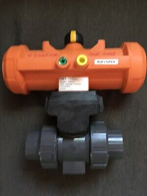 Georg Fischer 198150127 Pa11 Pneumatic Actuator With Ball Valve Type 546