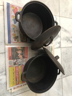 Wanted: Cast iron Dutch ovens