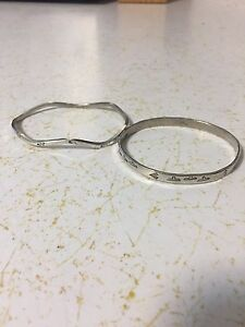 Sterling Silver Bangle Bracelets from Mexico