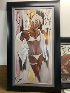 Art. Framed prints.