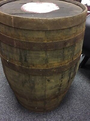 Solid oak Whisky Barrel