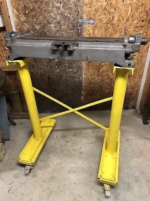 Niagara 3a 30 Bar Folder Bender Brake Hvac Sheet Metal