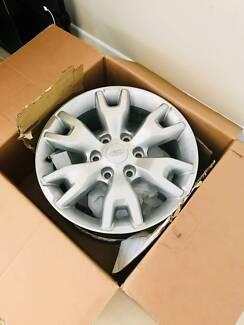 "Genuine Ford Ranger PX Wildtrak 18"" Alloy Wheels (265/60 R18) x4"