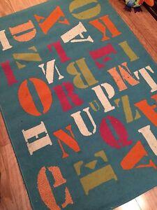 Kids Alphabet Floor Rug Edgewater Joondalup Area Preview