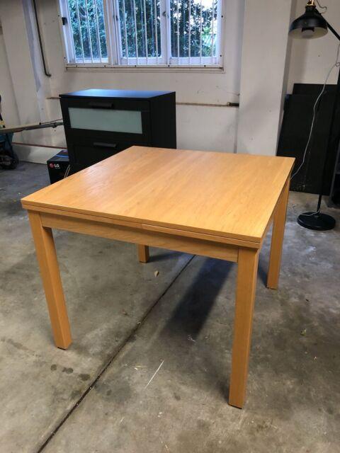 Extendable Square/Rectangle Dining Table - Ikea Bjursta ...