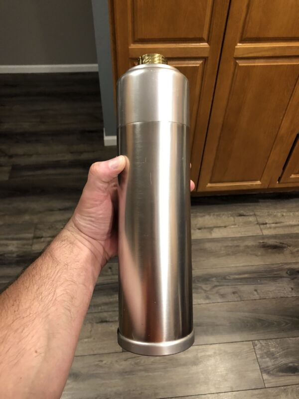 VINTAGE Kensington Aluminum Cocktail Shaker Great Piece!