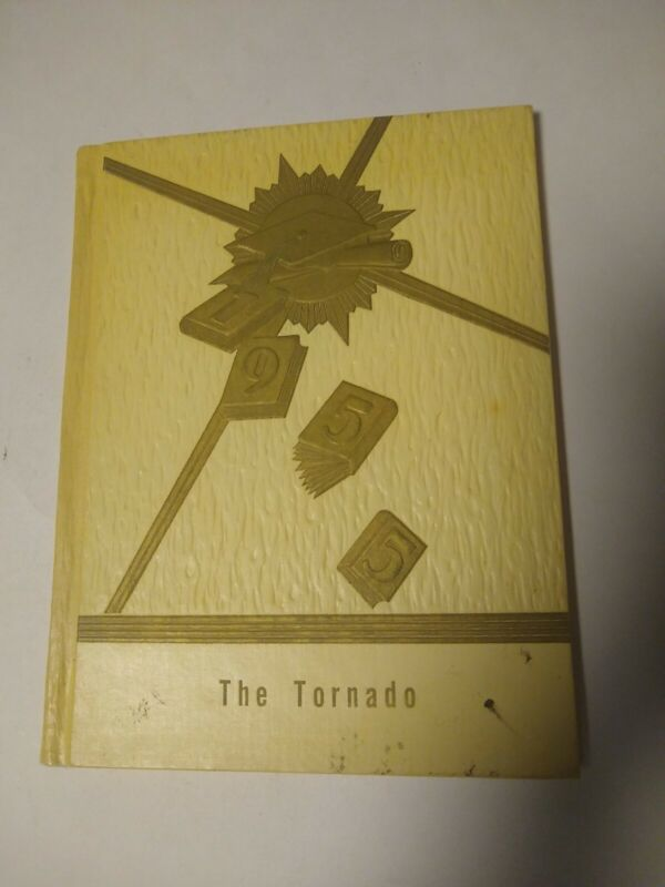 1955 The Tornado Yearbook Bonneville Grade School District #46 Hardback