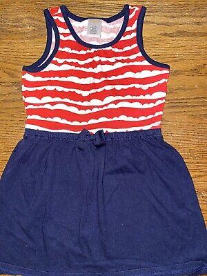 Gymboree Girls Size 5 Fourth Of July Sleeveless Dress