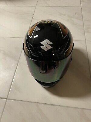 Used Shoei Motorcycle Helmet suzuki gsxr extra large