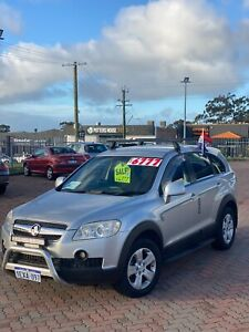 2007 Holden Captiva SX (4x4) | Brush Bar | Factory DVD with wireless headsets