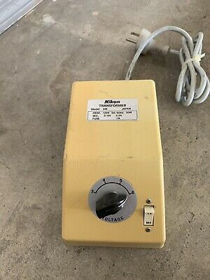 Nikon Transformer Xn Model - Power Supply