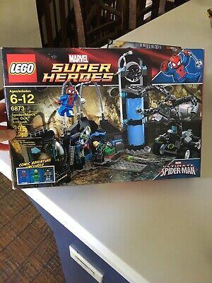LEGO 6873 Super Heroes Spiderman's Doc Ock Ambush New, Sealed, Retired